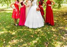 Bridesmaids Stock Image