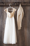 Bridesmaids Dress Royalty Free Stock Images