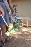 Bridesmaids Flowers Royalty Free Stock Image