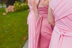 Bridesmaids royalty free stock photos