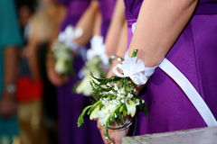 Bridesmaids Royalty Free Stock Photo