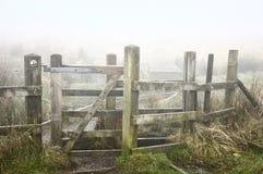 Bridestones在Hebden桥梁附近的黎明 库存照片