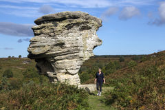 Bridestones Rocks - North Yorkshire - England Royalty Free Stock Photo