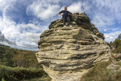 Bridestones - North Yorkshire - l'Angleterre Photos libres de droits