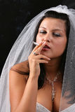 Bridezilla Royalty Free Stock Photography