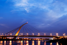 Bridg von Stadtbild Lizenzfreie Stockfotos