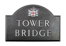 bridge1塔 免版税库存图片