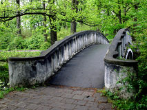 Bridge. A bridge in the park Royalty Free Stock Photos