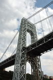 Bridge. George Washington Bridge between New Jersey and New York city Royalty Free Stock Image
