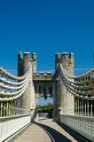 On the bridge Royalty Free Stock Photography
