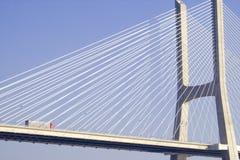 Bridge. Vasco da Gama Bridge Stock Photos