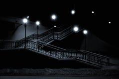 Bridge. Above a motorway in Surgut, Siberia Stock Photos