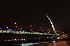 Bridge. A night shot of the bridge Royalty Free Stock Photo