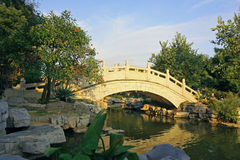 Bridge. The bridge which constructs with the stone Royalty Free Stock Photos