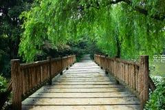 Bridge. A bridge in the public park Stock Images