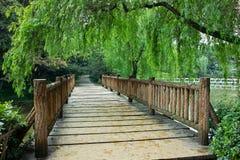 Bridge. A bridge in the public park Royalty Free Stock Photos
