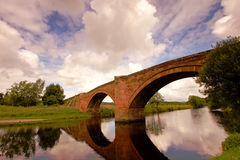Bridge. Between Thornhill and Penpont in Scotland Stock Images
