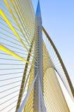 Bridge. A futuristic design of a bridge in Putrajaya, Malaysia Royalty Free Stock Image