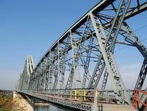 Bridge. Over Danube in Romania Stock Images