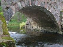Bridge. Remaining of an old bridge royalty free stock photos