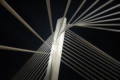 Bridge. Millennium bridge in Podgorica, Montenegro Royalty Free Stock Photography