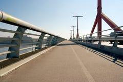 Bridge. Pavement of a modern bridge Stock Images