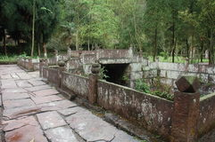 Bridge. The photo in ShangLi WhiteHouse spring Stock Photos