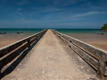 Bridge. Pier is an important to the livelihood of fishermen Royalty Free Stock Photography