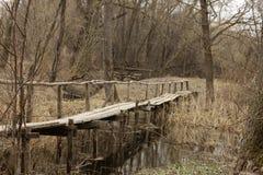 Bridge. Old bridge in a village Stock Photography