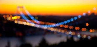 Bridge. De Focus Fatih Sultan Mehmet Bridge Royalty Free Stock Photo