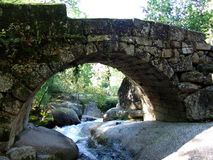 Bridge. Stone bridge Royalty Free Stock Photo