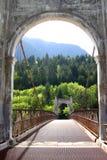 The Bridge. Bridge in British Columbia, Canada, close to Vancouver Stock Images