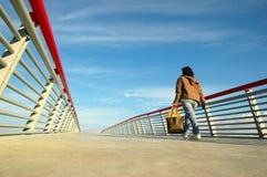 On the bridge Stock Photography