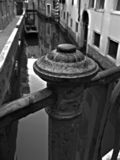 Bridge. Post in Venice, Italy Royalty Free Stock Photo