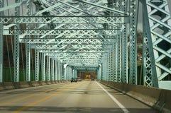 Bridge. Cars crossing a bridge stock photo