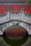 chinese traditional stone arch bridge Royalty Free Stock Image