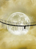 Bridge stock illustration