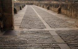 Bridge. Of a Quinn, Puente de la Reina in Navarra, Spain stock photos