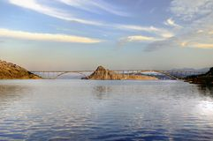 Bridge. On island Krk in Croatia Royalty Free Stock Photography
