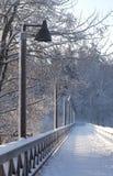 Bridge. A wooden bridge stock photography