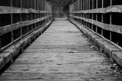 Bridge. Of the Occoquan River in Occoquan, Virginia Stock Image
