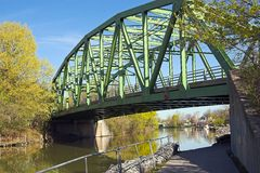 Bridge. Over the Erie Canal Royalty Free Stock Photography