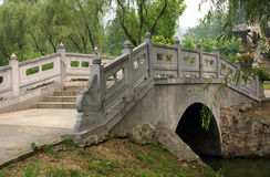 Bridge. The chinese style bridge there Stock Photo