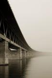 Bridge. Bride between Malmo and Copenhagen Royalty Free Stock Photos