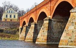 Bridge. Old bridge Stock Images