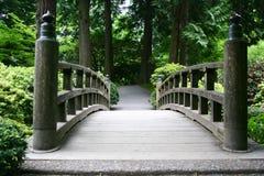 Bridge. A paved bridge Royalty Free Stock Photos