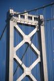 Bridge. Column of bay bridge in san francisco Royalty Free Stock Photos