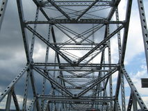 Bridge Abstract. Taken from below royalty free stock photography