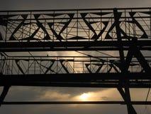Bridge in abstraction. stock photos