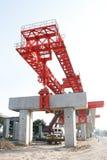 Bridge abutment Stock Images